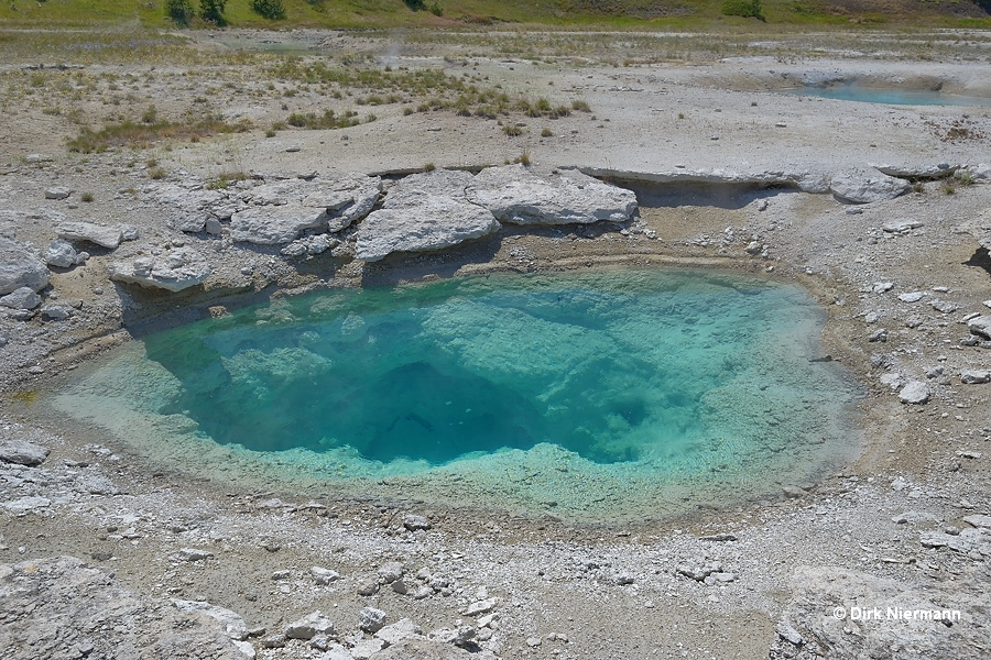 Collapsing Pool Yellowstone