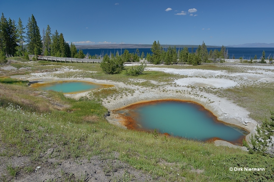 Painted Pools WTLGNN005 and WTLGNN006 Yellowstone